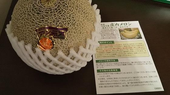日本管財 庄内メロンの画像