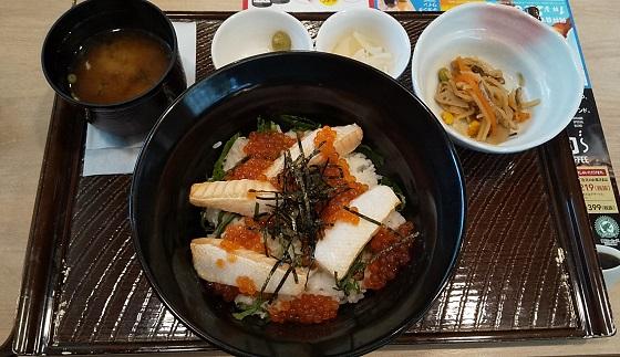 すかいらーく 秋のご当地フェア ガスト 鮭ハラスといくらのはらこ飯丼 優待 画像