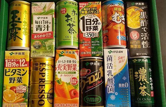 伊藤園 株主優待 ジュース お茶