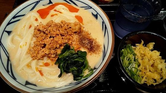 トリドール 株主優待 丸亀製麺 坦々うどん
