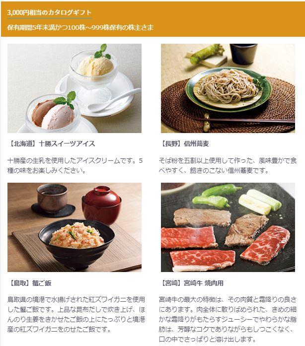 KDDI 株主優待 カタログ 2020年3月
