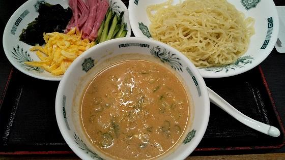 【優待ご飯】ハイデイ日高 (7611)の日高屋で「ごま味噌冷やし」を食べてきました♪