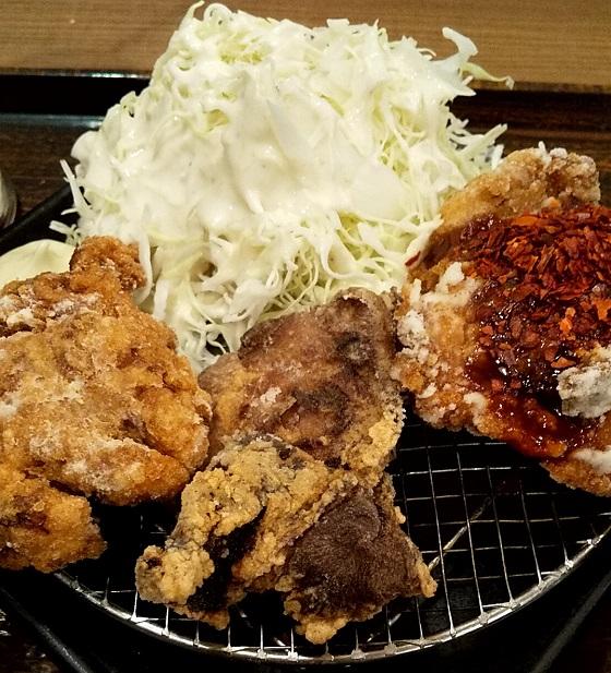 【優待ご飯】ワタミ (7522)のミライザカで「3種の自慢唐揚げ定食」を食べてきました♪