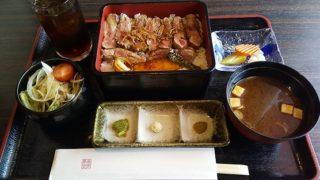 【優待ご飯】東京ドーム (9681)!東京ドームの「春風萬里」で牛ロース ステーキ重(コーヒー or 紅茶付き)を食べてきました♪