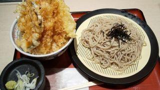 【優待ご飯】松屋フーズホールディングス (9887)の「松そば」で「上天丼、そば」を食べてきました♪
