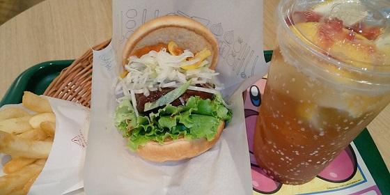 【優待ご飯】モスフードサービス (8153)の「モスバーガー」で「マンハッタンクラムチリ ロースカツ、まるごと!レモンのジンジャーエール withふじりんごソース」を食べてきました♪