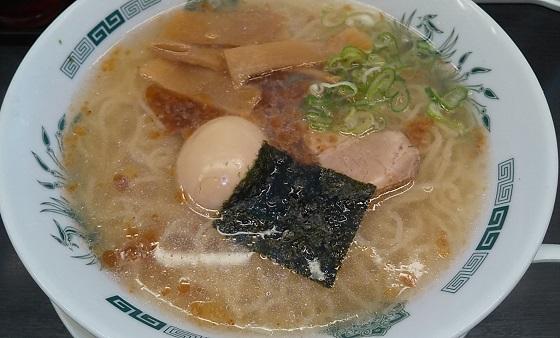 【優待ご飯】ハイデイ日高 (7611)の日高屋で「エビ塩ラーメン(大盛り)」を食べてきました♪