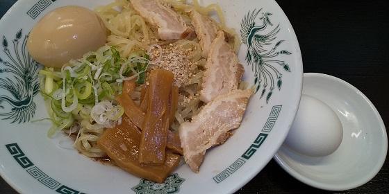 【優待ご飯】ハイデイ日高 (7611)の日高屋で「汁なしラーメン(油そば) + 味玉」を食べてきました♪