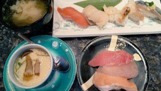 【優待ご飯】すかいらーくHD(3197)の「魚屋路」で「秋の五貫握り」を食べてきました♪