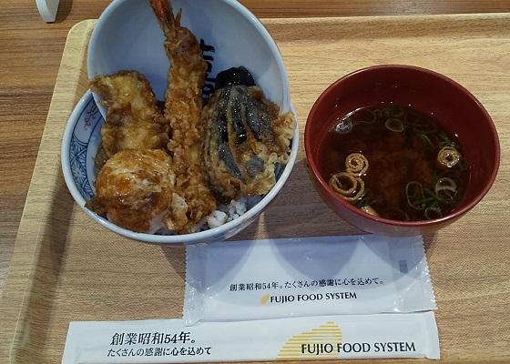 【優待ご飯】フジオフードシステム (2752)の「えびのや」で「天丼」を食べてきました♪