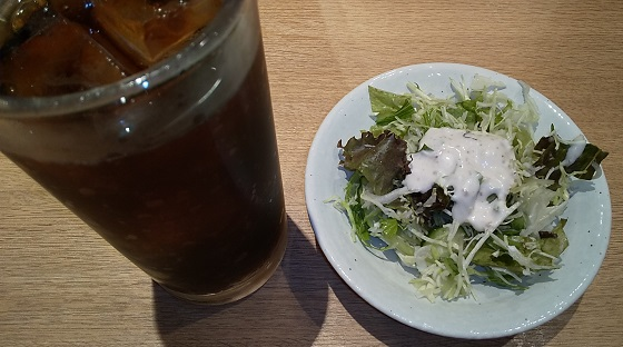 【優待ご飯】ハイデイ日高 (7611)の「亀よし食堂」で「ラム肉と小松菜 + サラダドリンクセット」を食べてきました♪