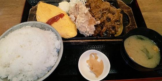【優待ご飯】SFPホールディングス (3198)のいち五郎で「焼肉&オムレツ&唐揚定食」と「コロッケ」を食べてきました♪