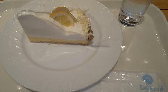 【優待ご飯】フジオフードシステム (2752) の「タルト&カフェ デリス」で「レモンタルト 」を食べてきました♪