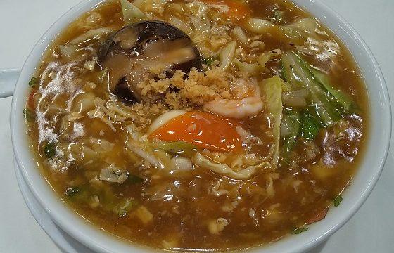 【株主優待】王将フードサービス (9936)の「餃子の王将」で「五目あんかけラーメン」を食べてきました♪