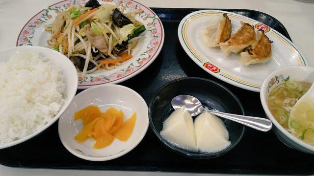 【優待ご飯】王将フードサービス (9936)の「餃子の王将」で「野菜炒め定食」を食べてきました♪