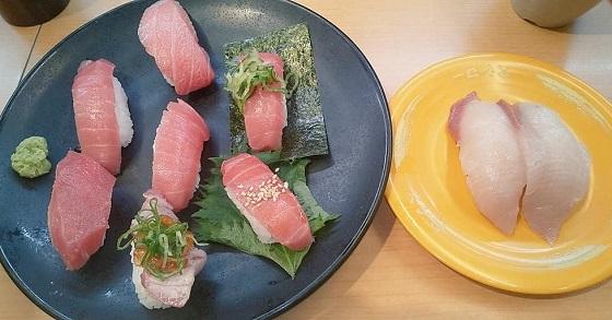 【優待ご飯】スシローグローバルホールディングス (3563)の「スシロー」で「特選 天然本鮪7貫盛り」を食べてきました♪