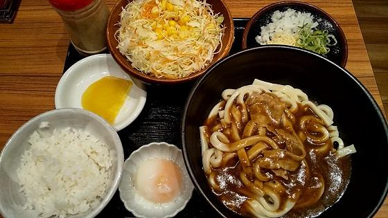 【優待ご飯】吉野家ホールディングス (9861)の「カレーうどん専門店 千吉(せんきち)」で「まぜカレーうどん、サラダセット」を食べてきました♪