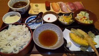 【優待ご飯】クリエイト・レストランツ・ホールディングス[クリレス] (3387)の「いっちょう」で「お寿司天ぷら御膳」を食べてきました♪