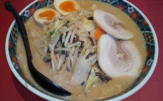 【優待ご飯】ギフト (9279)の「マルキ屋」で「味玉みそ野菜炒めラーメン」を食べてきました♪