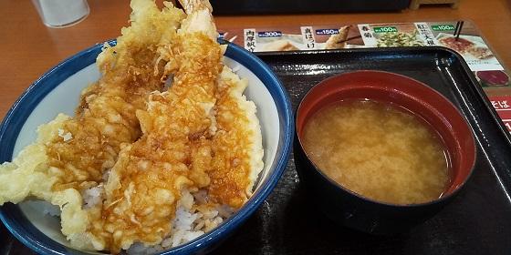 【優待ご飯】ロイヤルホールディングス (8179)の「てんや」で「新春めで鯛天丼」を食べてきました♪