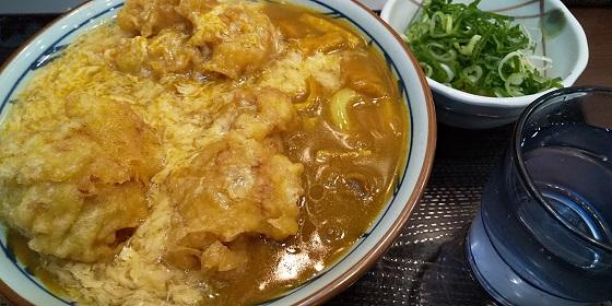 【優待ご飯】トリドールホールディングス (3397)の「丸亀製麺」で「鶏天カレーうどん」を食べてきました♪