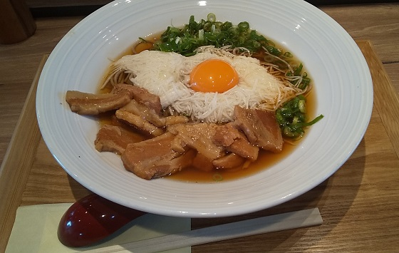 【優待ご飯】アークランドサービス(3085)の「東京とろろそば」で「肉とろろそば」を食べてきました♪