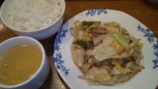 【優待ご飯】すかいらーくHD(3197)の「バーミヤン」で「日替わりランチ 豚肉の坦々炒めランチ」を食べてきました♪