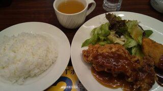 【優待ご飯】すかいらーくHD(3197)の「ジョナサン」で「日替わりランチ 金曜日 チキン竜田てりやきソース&白身魚フライ」を食べてきました♪ GotoEatも利用!!