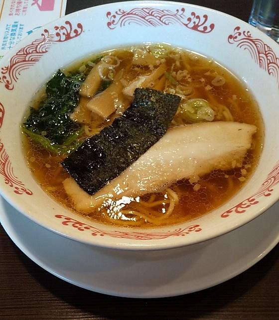 【優待ご飯】すかいらーくHD(3197)の「ばーみやん軒」で「ばーみやんラーメン、サバ唐揚げ甘酢しょうゆ」を食べてきました♪