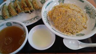 【優待ご飯】ハイデイ日高 (7611)の「日高屋」で「炒飯、バジル餃子」を食べてきました♪