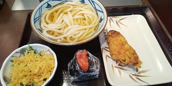 【優待ご飯】トリドールホールディングス (3397)の「丸亀製麺」で「期間限定 丸亀ランチセット」を食べてきました♪