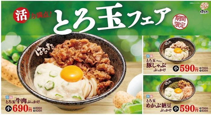 【優待ご飯】吉野家ホールディングス (9861)の「はなまるうどん」で「とろ玉牛肉ぶっかけ」を食べてきました♪