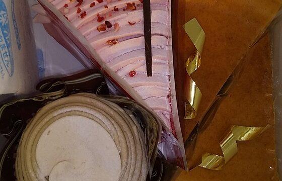 【優待利用】不二家 (2211)の「不二家洋菓子店」で「ストロベリーザクザクチョコケーキ(玄米入り)、笠間産和栗のモンブラン、プレミアム濃厚ベイクドチーズケーキ」を買ってきました♪