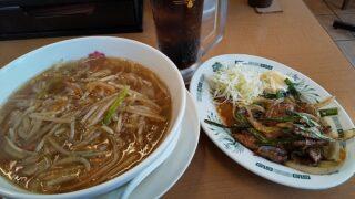 【優待ご飯】ハイデイ日高 (7611)の「中華料理 来来軒」で「もやしラーメン、レバスタミナ炒め、コーラ」を食べてきました♪