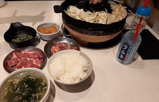 【優待ご飯】一家ダイニングプロジェクト (9266)の「大衆ジンギスカン酒場 ラムちゃん」で「ジンギスカンミックス定食」を食べてきました♪