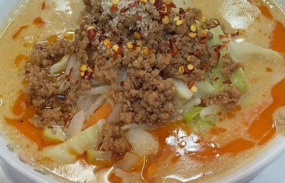 【優待ご飯】王将フードサービス (9936)の「餃子の王将」で「辛さ激増し 野菜たっぷり担々麺」を食べてきました♪