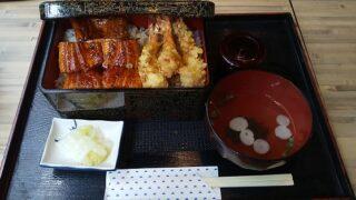 【優待ご飯】SFPホールディングス (3198)の「うなぎの岡島」で「うなぎ海老天重」を食べてきました♪