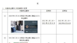 【株主優待】ウェルス・マネジメント (3772)の株主優待期限 延長! 2021年12月31日→2022年6月30日に!